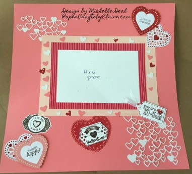 From the Heart Suite, Mini Catalog  2020, scrapbook layouts, scrapbook pages, Michelle Deal scrapbook page designs,  handmade scrapbook designs, 12x12 scrapbook pages, valentine scrapbook pages,
