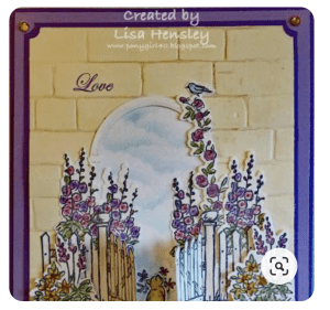 Graces Garden Stampin' Up, greeting cards, handmade greeting cards, monthly card class, learn new techniques,