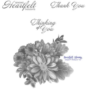 Heartfelt Bloom Stamp set, stamp set for sale, retired stamp sets for sale,