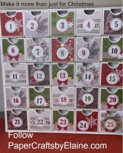 countdown to Christmas, countdown to Christmas Alternatives, Advent Christmas, birthday countdown, crafts for kids, Crafting fun for the holidays, how to make an advent calendar, Easy advent calendar, Christmas projects,