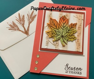 Great Mistakes, Boops when making cards, greeting cards, handmade greeting cards, Fall cards, Gather together, Gather Together Bundle, how to make a great fall card, fall fancy cut cards, Fall bloops, Turn around mistakes,