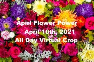 All day virtual crop, virtual scrapbook crop, virtual card making crop, April all day crop,