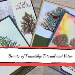 Beauty of Friendship pdf and tutorial, pdf for sale, Stampin' Up pdf and tutorial for sale, for sale pdf/tutorial,