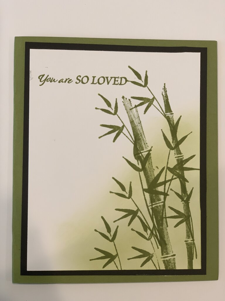Stampin\' Up Bamboo Beauty Stamp set