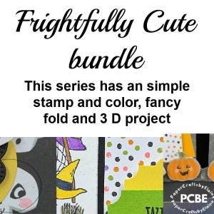 Frightfully Cute Bundle, 3 D project using Frightfully Cute Bundle,