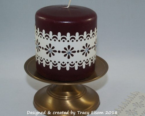 Laser-Cut Candle Band