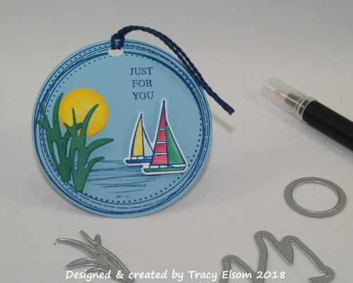 Sailboat Gift Tag