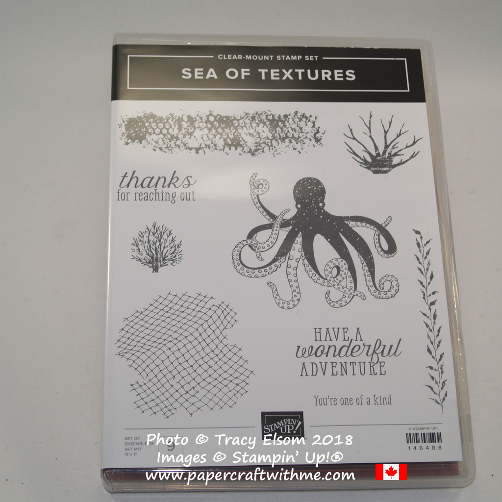 Sea of Textures Stamp Set from Stampin' Up!