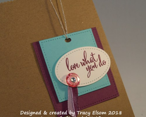 Love What You Do Gift Tag