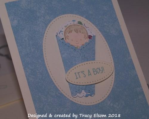 1504 It's a Boy! Card