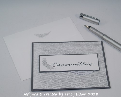 1506 Sincere Condolences Card