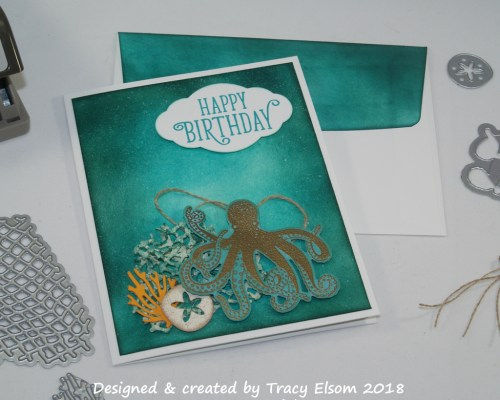 1507 Under the Sea Birthday Card