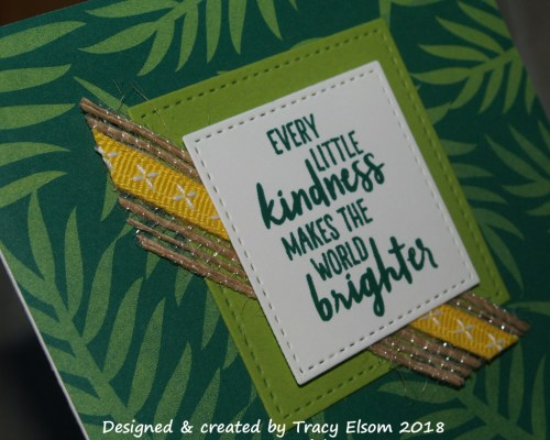 1517 Tropical Kindness Card