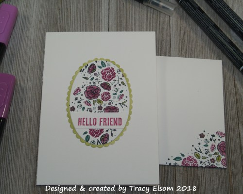 1545 Hello Friend Card