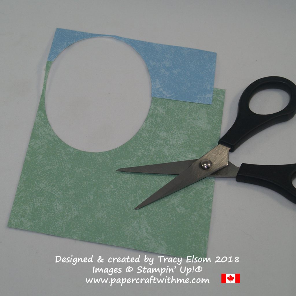 Overlay paper and cut once to get curves that fit together perfectly.