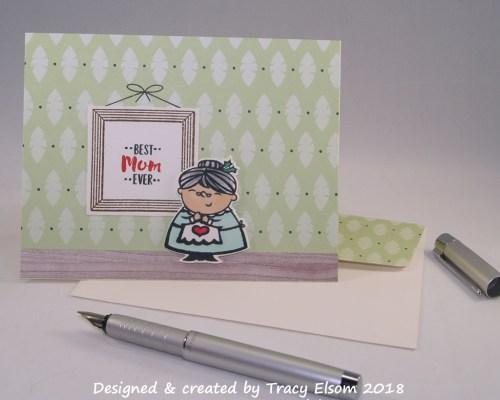 1583 Best Mum Ever Card