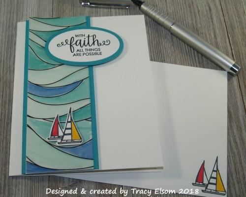 1584 Faith on Water Card