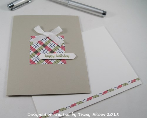 1599 DSP Present Birthday Card