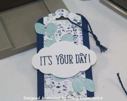 It's Your Day Gift Tag