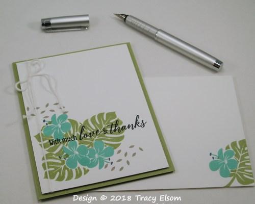 1612 Love & Thanks Card