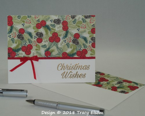 1622 Jingle Bell Wishes Card