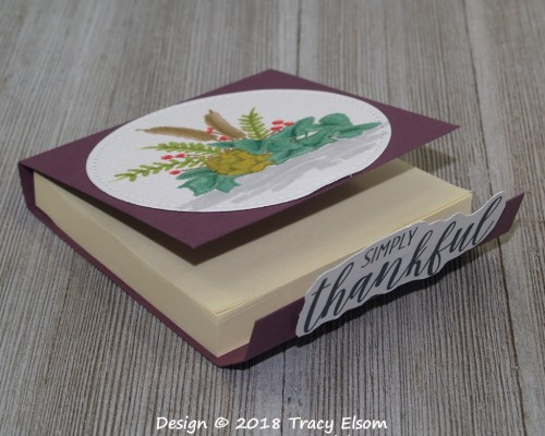 P37 Country Home Post-It Holder