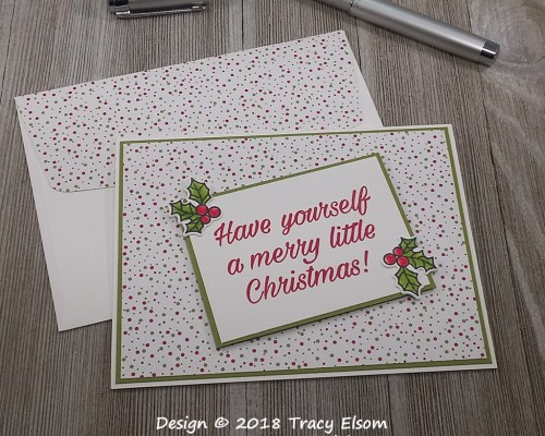 1661 Dotty Christmas Card