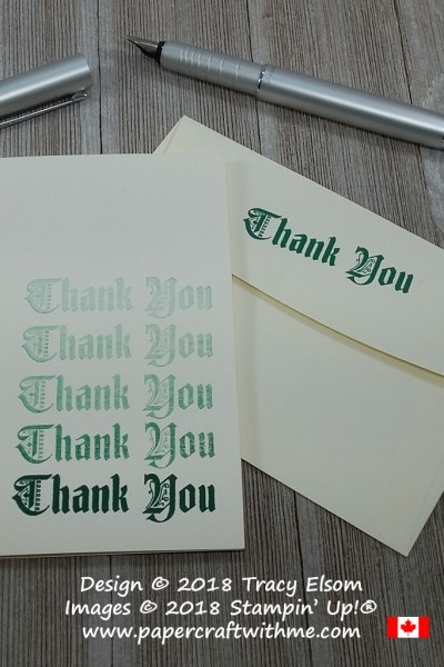 #SimpleStamping Challenge – Thank You