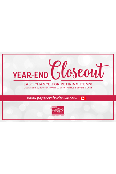 This image will take you to the Year-End Closeout section of my Stampin' Up! online store.