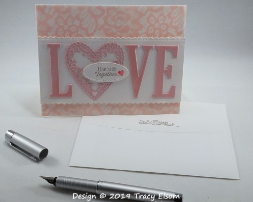 1693 L♥VE Our Life Together Card