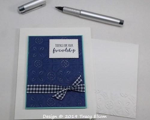 1710 Friendship Thanks Card