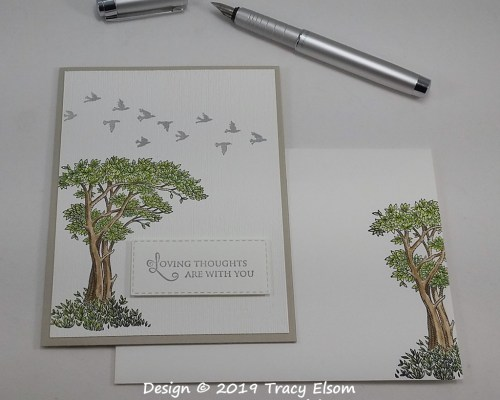 1715 Loving Thoughts Card