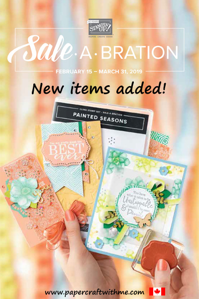 This image will take you to the Sale-A-Bration section of my online store where you can see all the free products you can earn until March 31st.