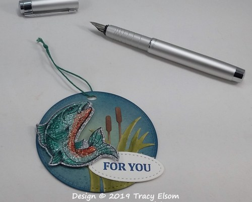 Sparkling Trout Tag