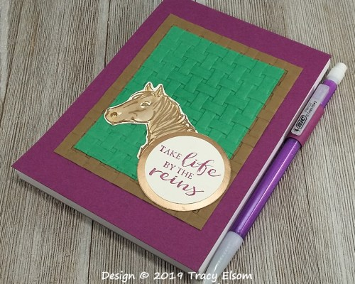 P48 Horse Notepad