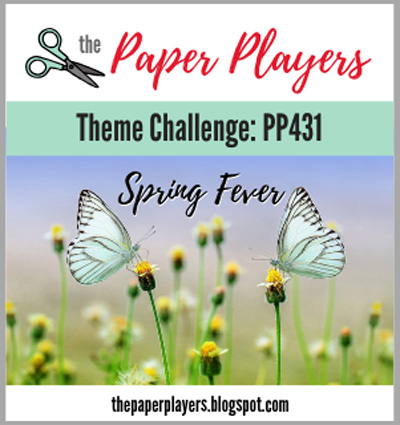 Logo for The Paper Players design challenge #PP431 - Spring Fever (March 3-8, 2019)