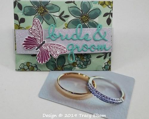 GC197 Bride & Groom Giftcard Envelope