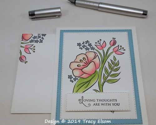 FP19 Floral Thoughts Card