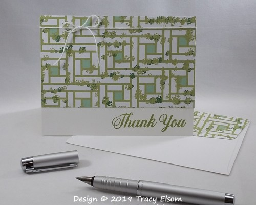 1771 Garden Lane Thank You Card