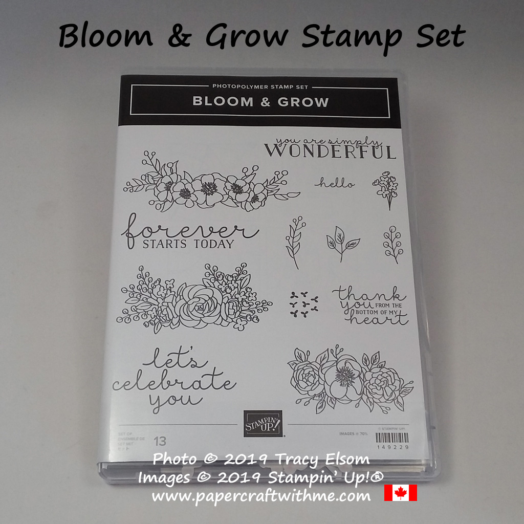 Bloom & Grow Stamp Set from Stampin' Up!