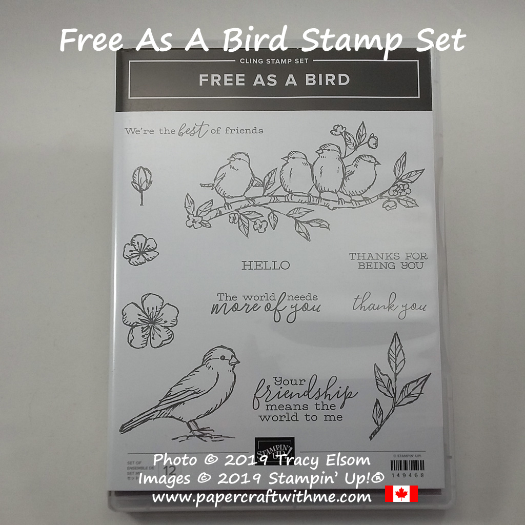 Free As A Bird Stamp Set from Stampin' Up!