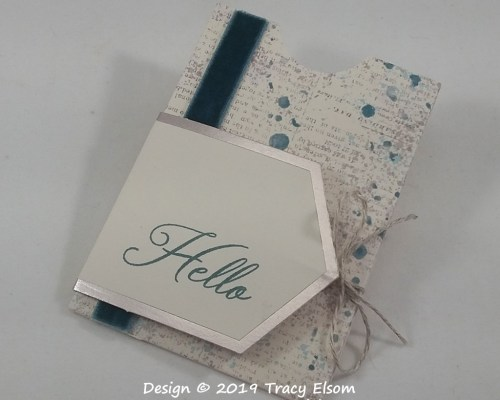 GC199 Hello Gift Card Holder