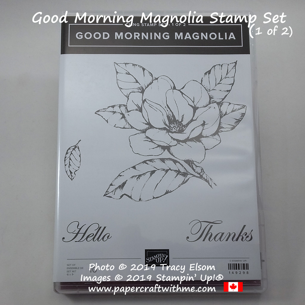Good Morning Magnolia Stamp Set from Stampin' Up! (part 1 of 2)