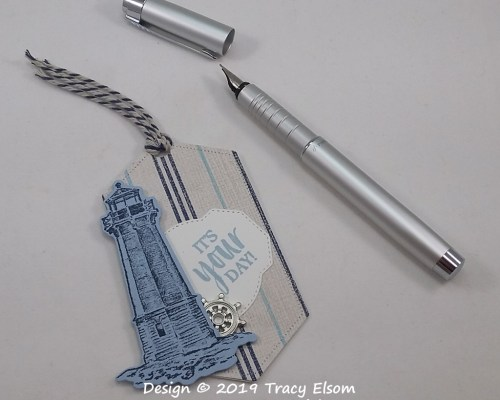Lighthouse Gift Tag