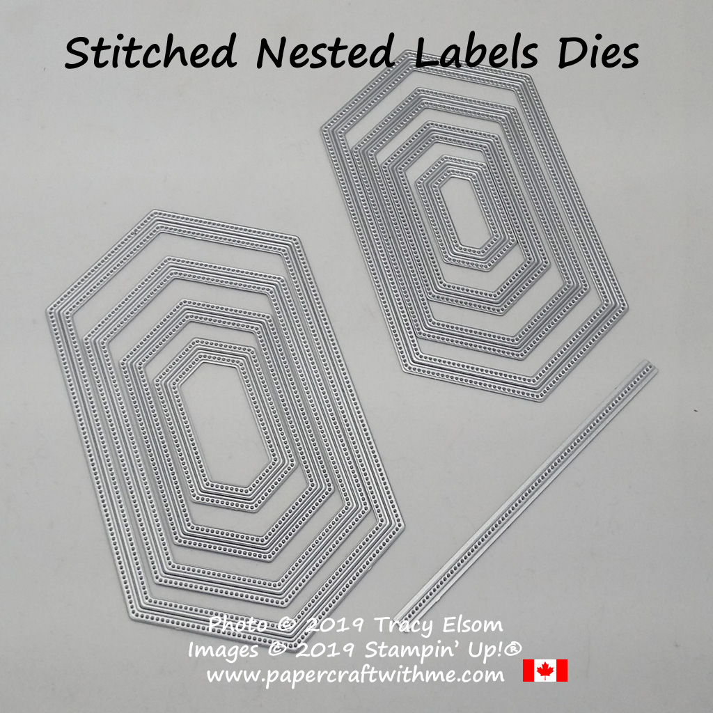 Stitched Nested Labels Dies from Stampin' Up!