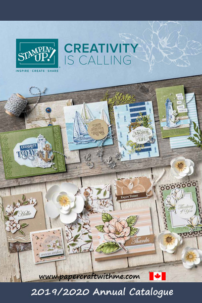 Link to the English Canadian version of the Stampin' Up! 2019/2020 Annual Catalogue