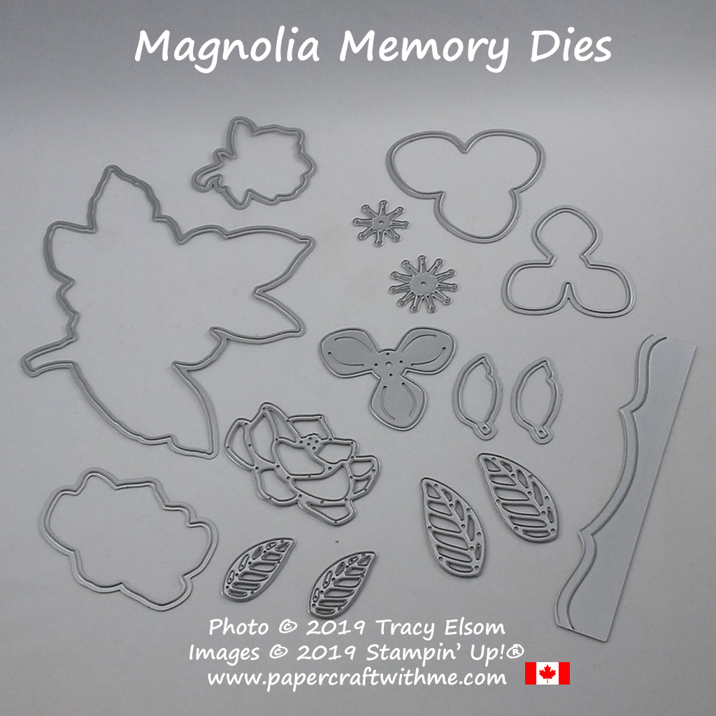 Magnolia Memory Dies from Stampin' Up!