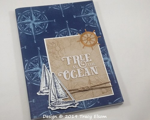 P54 Free As The Ocean Notebook
