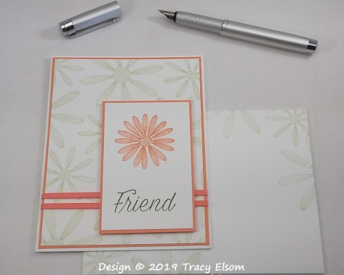 1781 Daisy Lane Friend Card