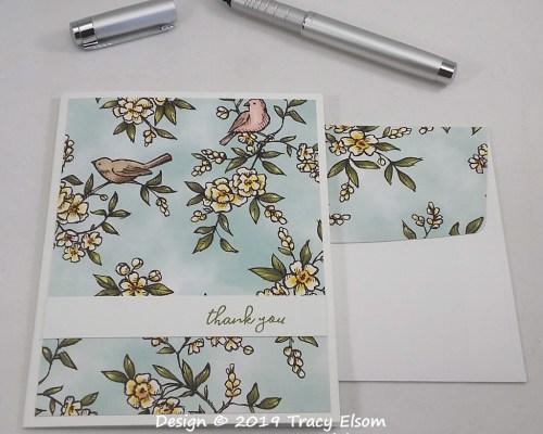 1800 Bird Thank You Card